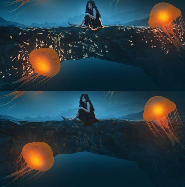 arch model light effect 1