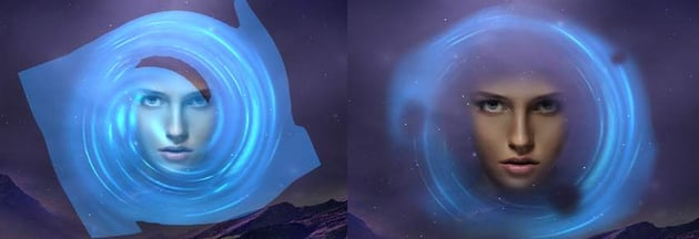 light circle linear dodge mode