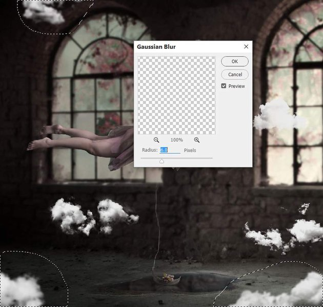 clouds gaussian blur 1