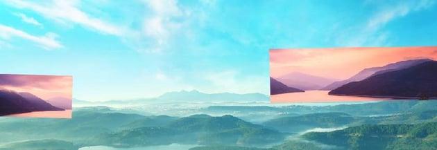 boat photomanipulation - add landscape 2