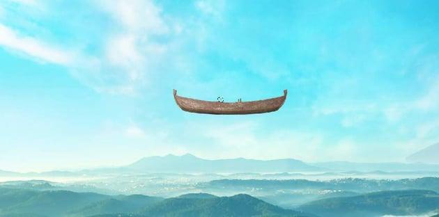 boat photomanipulation - add boat