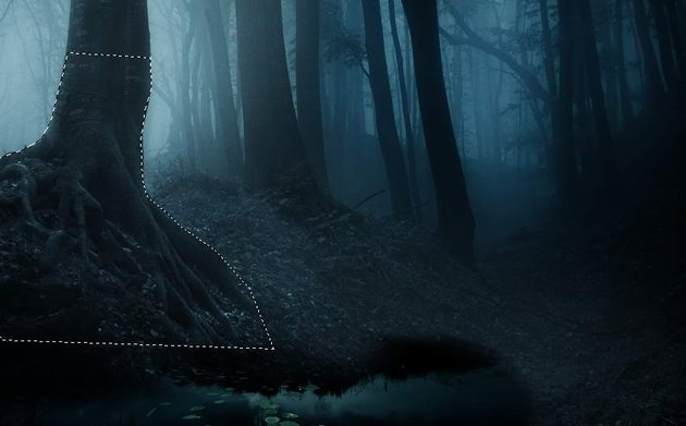 fantasy digital art  - select tree