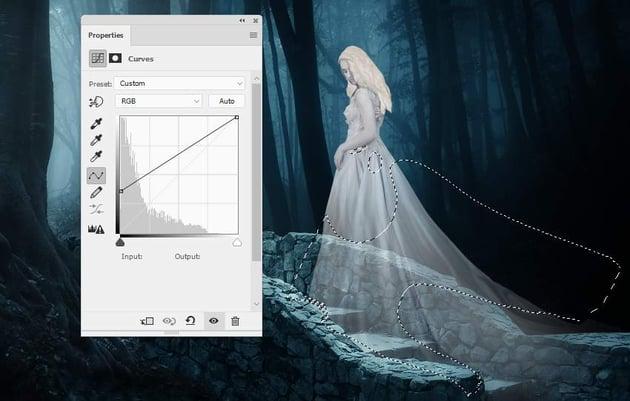 fantasy digital art - model curves 2