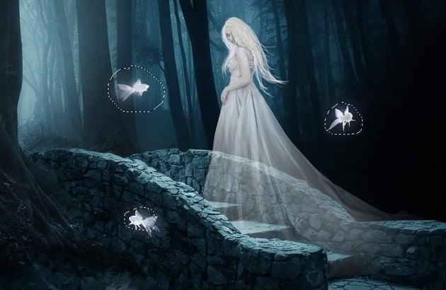 fantasy digital art - fish glow 1
