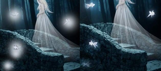 fantasy digital art - fish glow 2