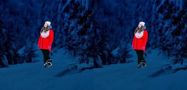 photo manipulation - model cloning