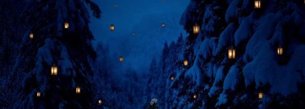 photo manipulation - lanterns highlight result