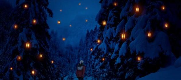photo manipulation - lanterns glow result