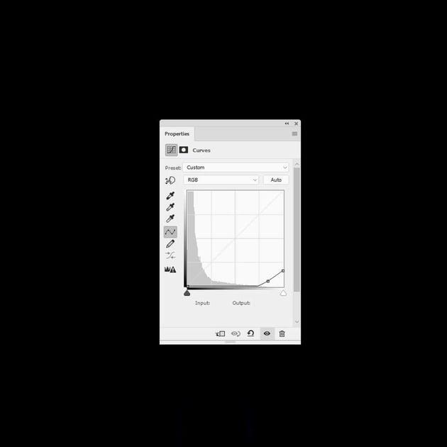 photo effect - curtain curves
