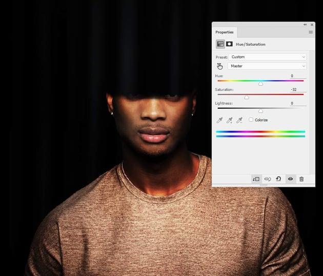 photo effect - model hue saturation 2