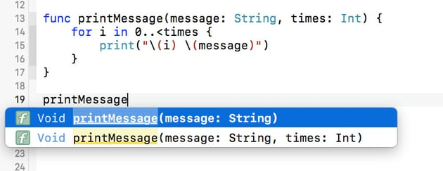 Invoking a Function