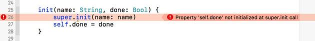 Initialization Error