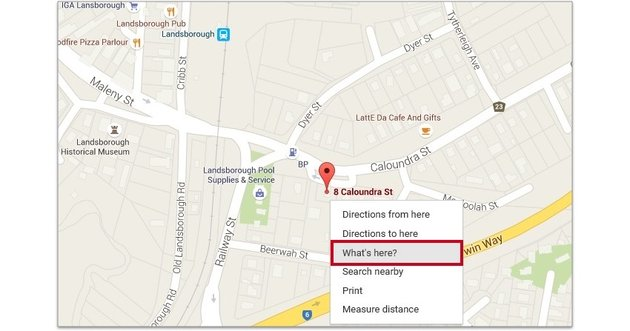 Getting map coordinates from Google maps