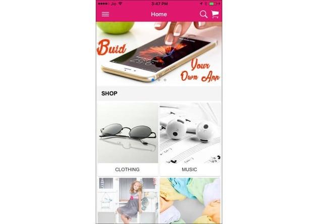 Ionic 3 App for WooCommerce
