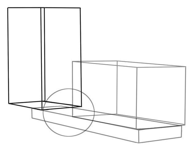 A large cube at the back of the chassis will be a guide for a rollbar