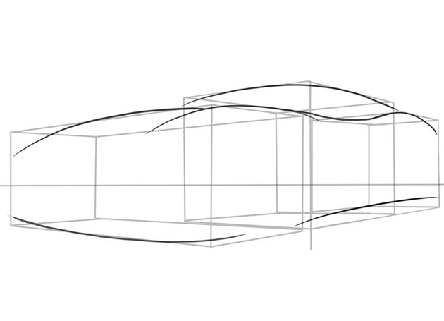The large inward curve will help direct air into vents in the rear