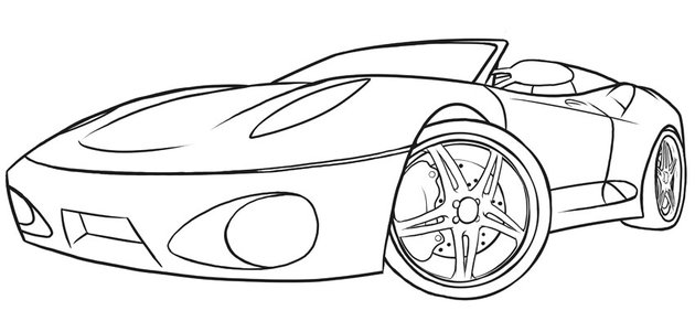 Our completed line art