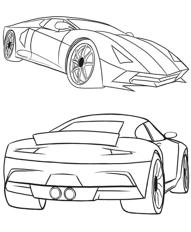 Bagaimana Menggambar Mobil Dari Awal