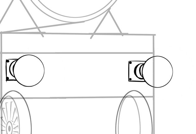 Start drawing the fine details with the buffers