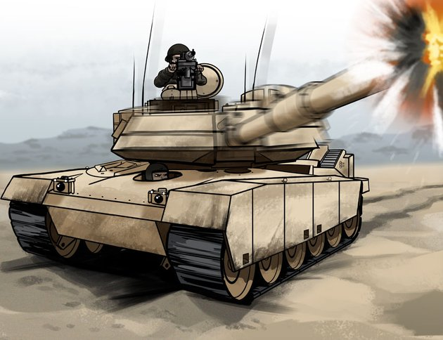 Tanks are still a force to be reckoned with on the battlefield