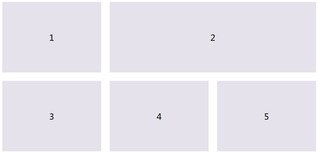 The desired columns order on large screens