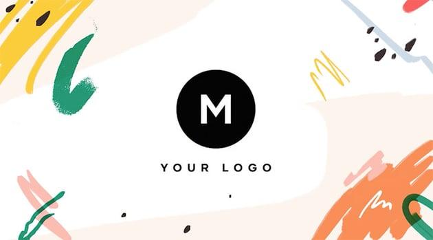 Tropical Themed DaVinci Resolve Logo Reveal Template