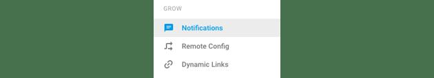 Navigating to Notifications in Firebase