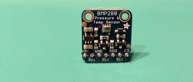 Adafruit pressure and temperature sensor