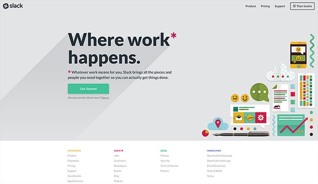 slack online collaboration and communication tool
