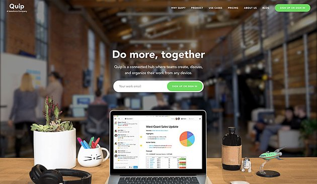 quip online collaboration software