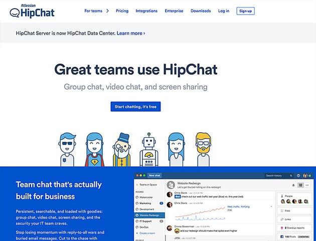 hipchat online collaboration app