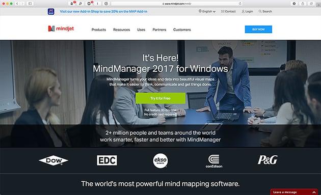 mindmanager enterprise mind mapping software