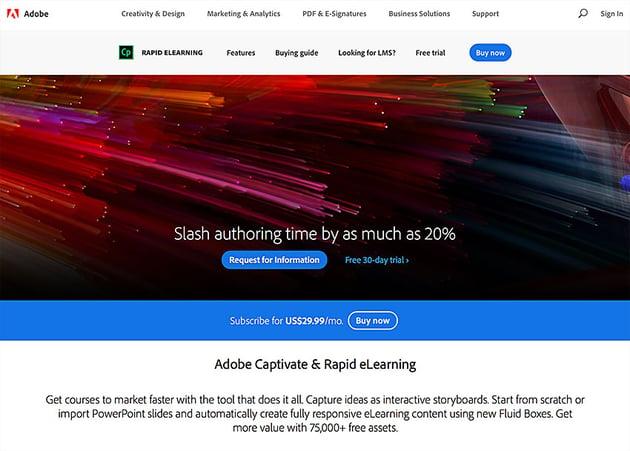 adobe captivate screen recording app