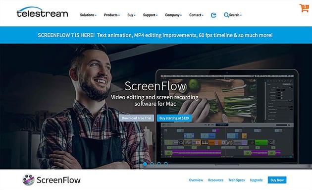screnflow screen recording software