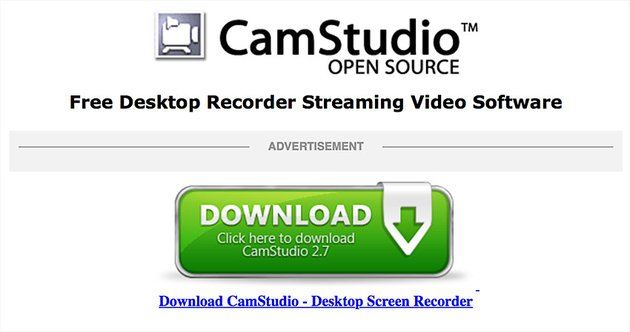 camstudio screen recording software