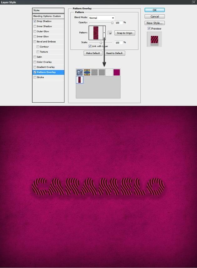 Pattern Overlay