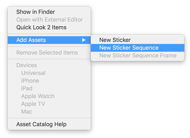 Sticker Sequence Creation