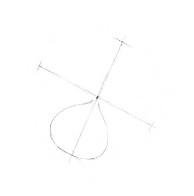 Drawing the first element of this shape