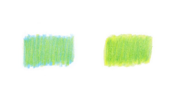 Changing the sequence of color layers
