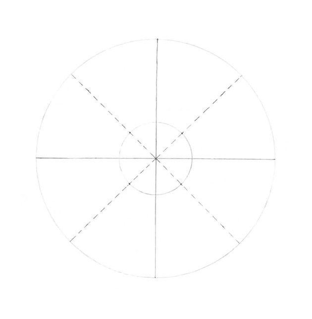 Dividing each sector in half