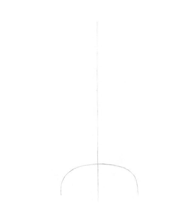 Drawing the foundation and the core line