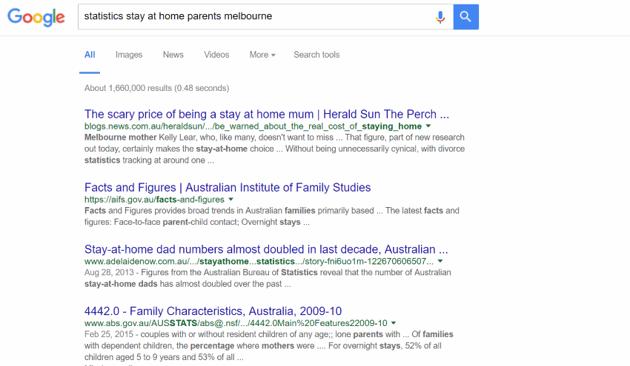 Statistics search