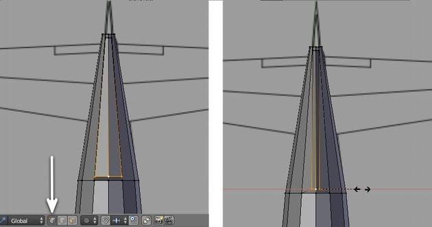 Tweak the vertices