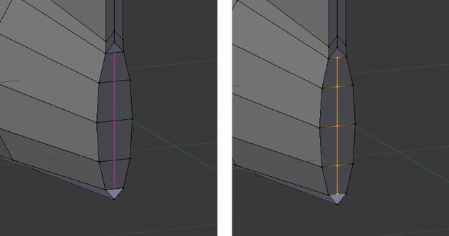 Create a loop cut