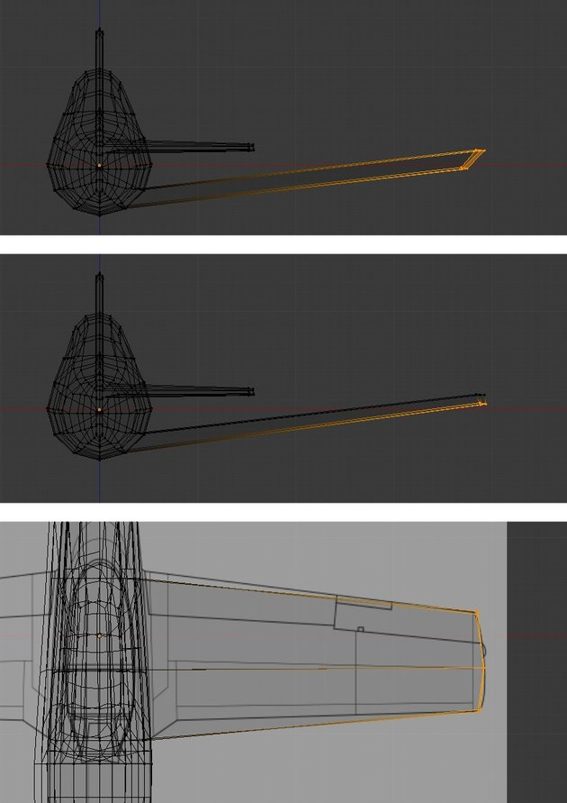 Tweak the vertices to match reference