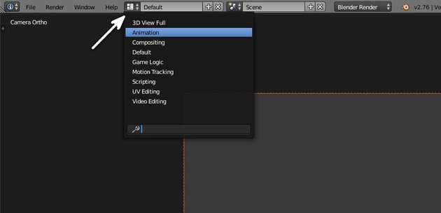 Switch to Animation layout