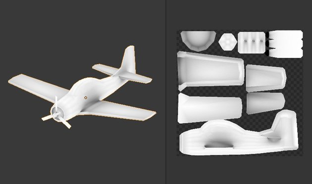 Ambient Occlusion baked on an image