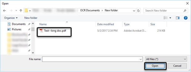 Upload the files to Google Drive