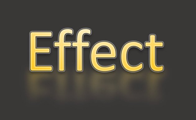 Finished Text Effect in Word