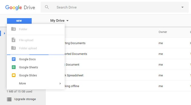 Create any document other than a form or map offline
